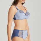 Prima Donna Nyssa full cup bra side view with full brief