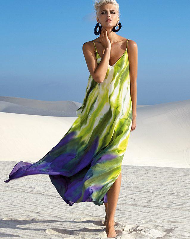Stunning summer beach dress