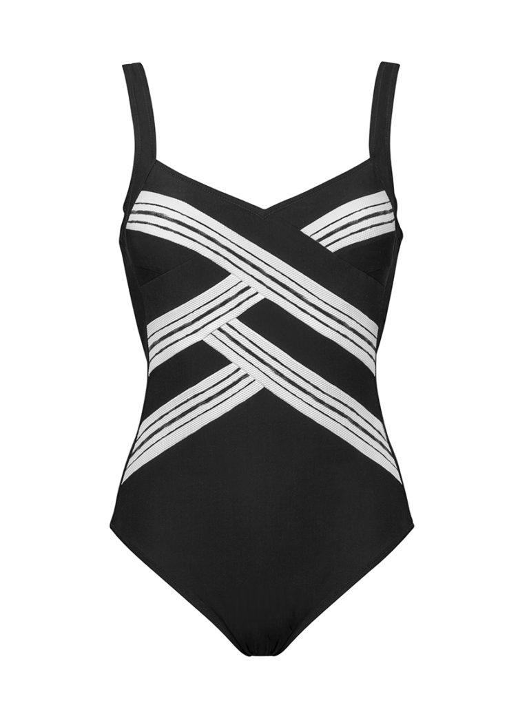 Charmline two tone swimsuit