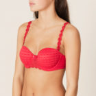 Side image Of Marie Jo Avero Performed Strapless Bra in Scarlet Red
