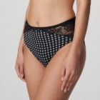 Side image of Prima Donna Madison Opaque Full briefs In Crystal Black