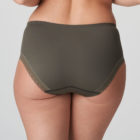 Back image of Woman wearing Prima Donna Palace Garden Full Brief In Khaki Reptile