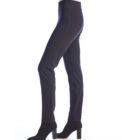 Up! Pants Ponte Slim Leg Trouser in Navy