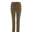 Up! Pants Kors Slim Leg Trouser in Black and Yellow