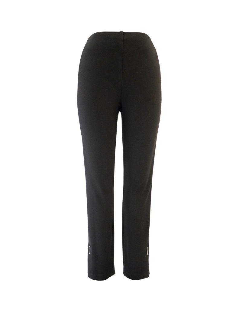 Up! Pants Ponte Hugger Trouser in Black
