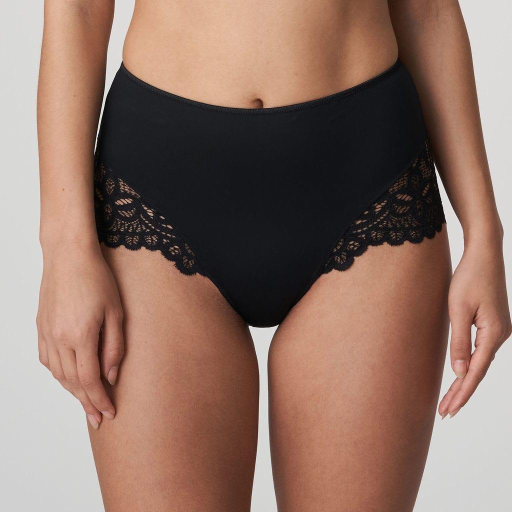 black luxury lingerie