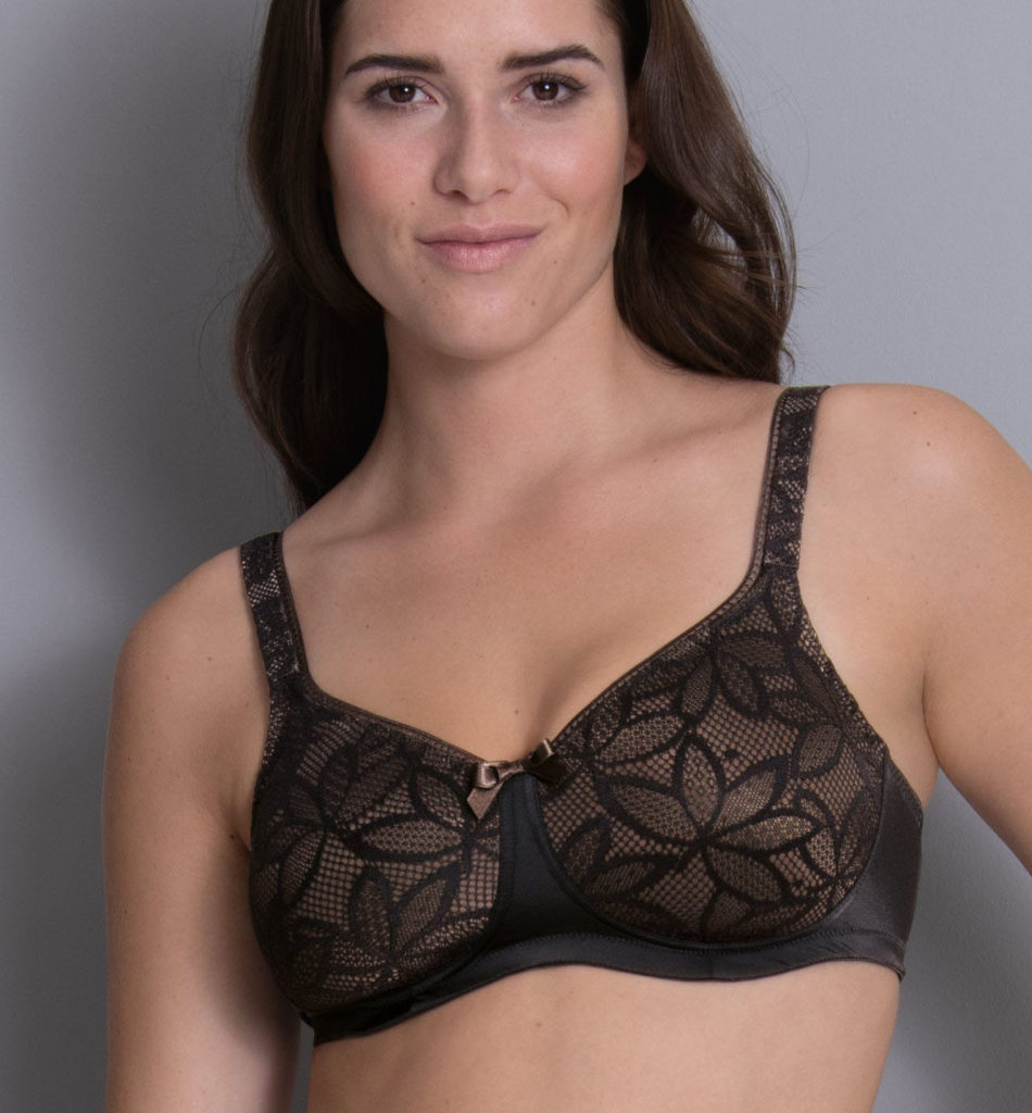 Black Close Bra